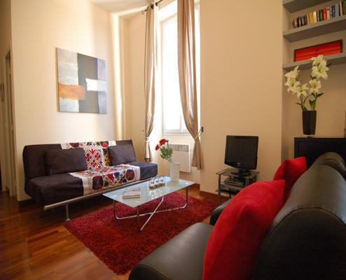 Sitting room - Lympia- Gorgeous Nice Apartment 1 Bedroom in Great Area - Nice - rentals