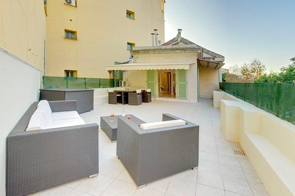 Blanc-Amazing Terrace. SPECIAL SUMMER PRICES TODAY - Image 1 - Nice - rentals