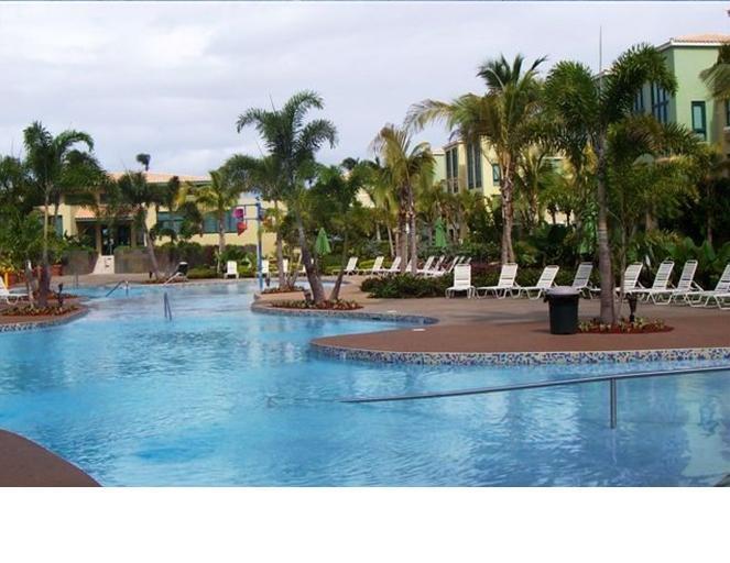 Main Pool (but only 1 of 6 available) - Aquatika Beachfront Apartment in Puerto Rico - Loiza - rentals