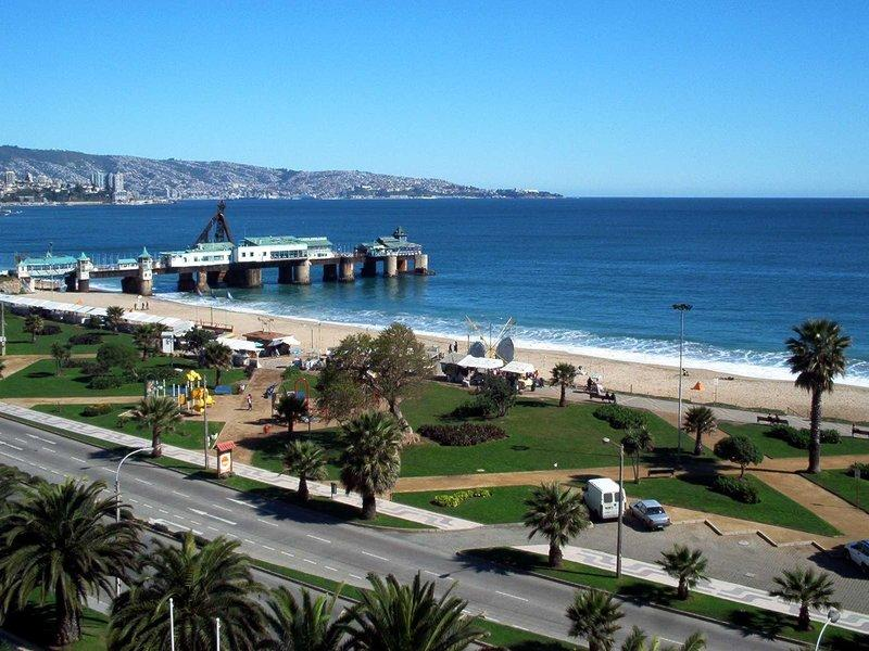 Panoramic View - Condo Frente a la Playa - Viña del Mar - Vina del Mar - rentals