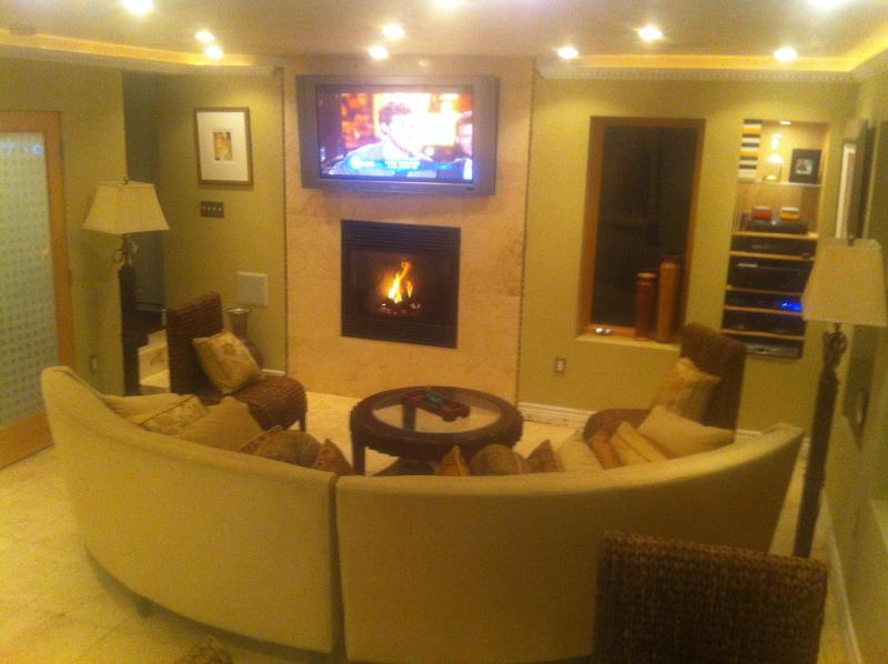 Enjoy the Fireplace and Big Screen TV - Sausalito Private Suite 7 minutes to San Francisco - Sausalito - rentals