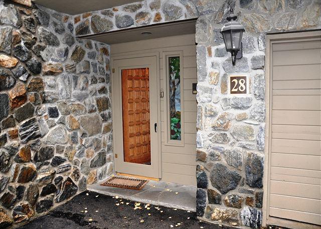 Front Door - Golf Course Townhome #28 3 Bedrooms 2.5 Bathrooms - Vail - rentals