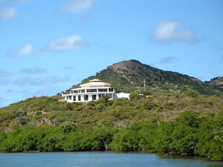 Waterview of house - 2 bedroom oceanfront home on Culebra, Puerto Rico - Culebra - rentals