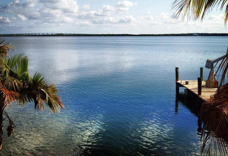 View of Bay - Bayfront Paradise (Casa Bella) Welcomes you to Key Largo - Key Largo - rentals