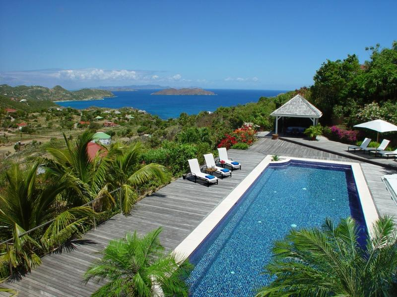 La Plantation at Petite Saline, St. Barths - Ocean View, Private, Large Pool - Image 1 - Saint Barthelemy - rentals