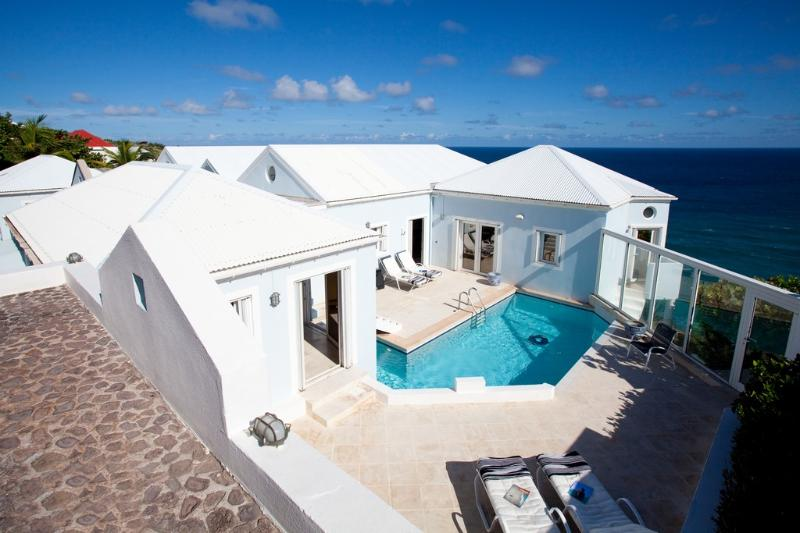 Au Vent at Pointe Milou, St. Barths - Ocean View, 2 Pools, Elegant and Comfortable Decoration - Image 1 - Pointe Milou - rentals