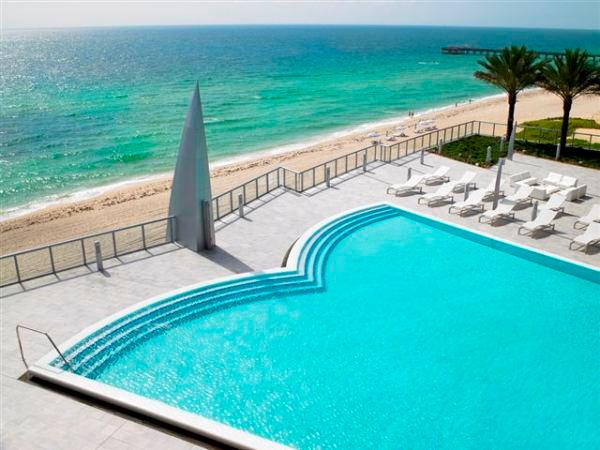 Pool - BEST BUILDING IN SUNNY ISLES - BEACHFRONT 32ND FLO - Coconut Grove - rentals