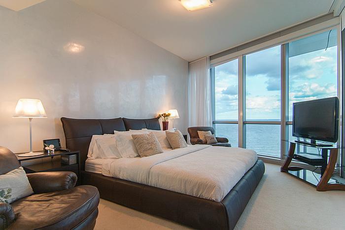 Master Bedroom - Luxury 3 bedrooms Ocean Front in Sunny Isles!!!!! - Sunny Isles Beach - rentals