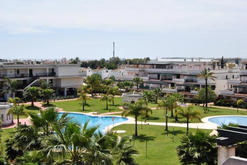 Terrace view - Tirrant 2 bedroom apartment close to Puerto Banus - Province of Malaga - rentals
