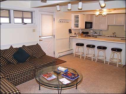 Living room area - Immaculate 2 bedroom - Walk to lifts (3579) - Aspen - rentals