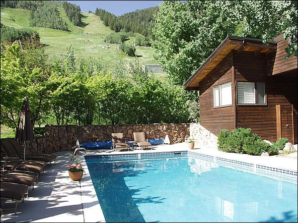 Slopeside Heated Pool - Mountain Elegance - Great Views! (8113) - Aspen - rentals