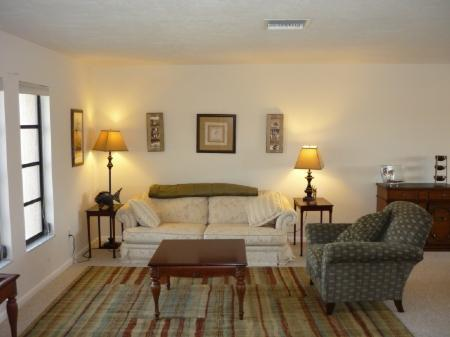 Beautiful Living Room - Great water access from this Island home ...perfect for boating - Marco Island - rentals