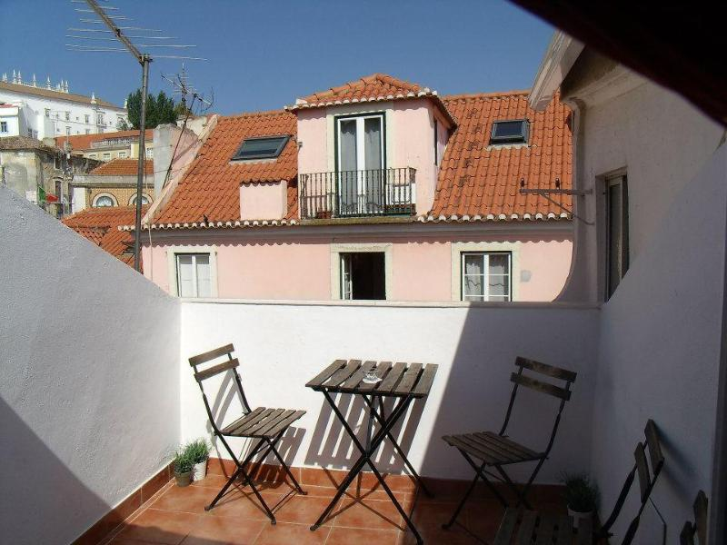 apartments's terrasse - LISBON - ALFAMA - NATIONAL PANTHEON - Lisbon - rentals
