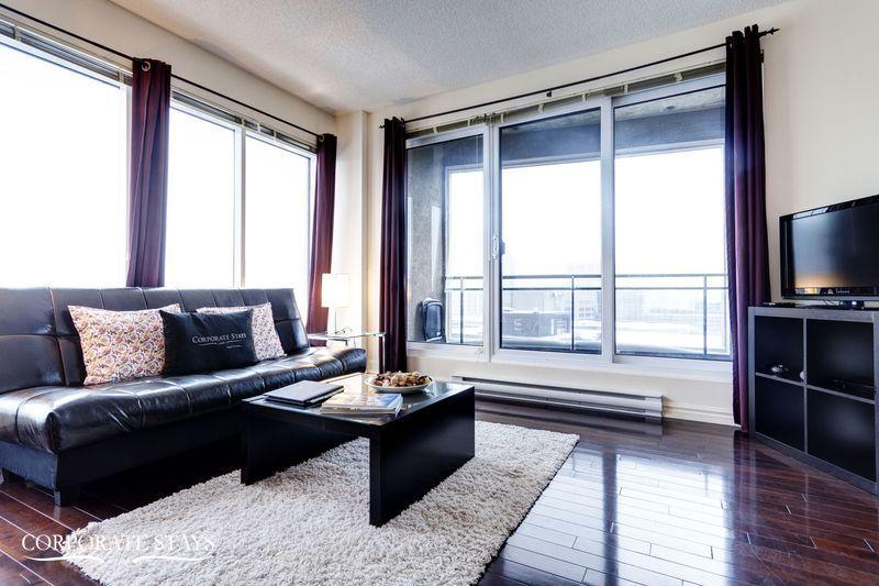 Marquis 1BR | Furnished Corporate Apt | Montreal - Image 1 - Montreal - rentals