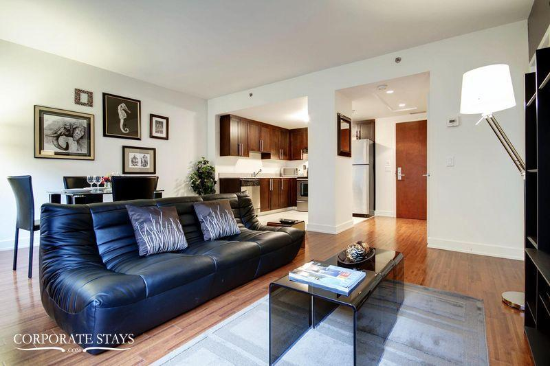 Helios 1BR | Furnished Corporate Rental | Montreal - Image 1 - Montreal - rentals