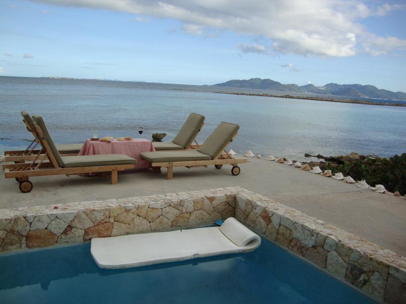Are you ready for this? - Anguilla Villa with pool on Caribbean beachfront / - West End - rentals