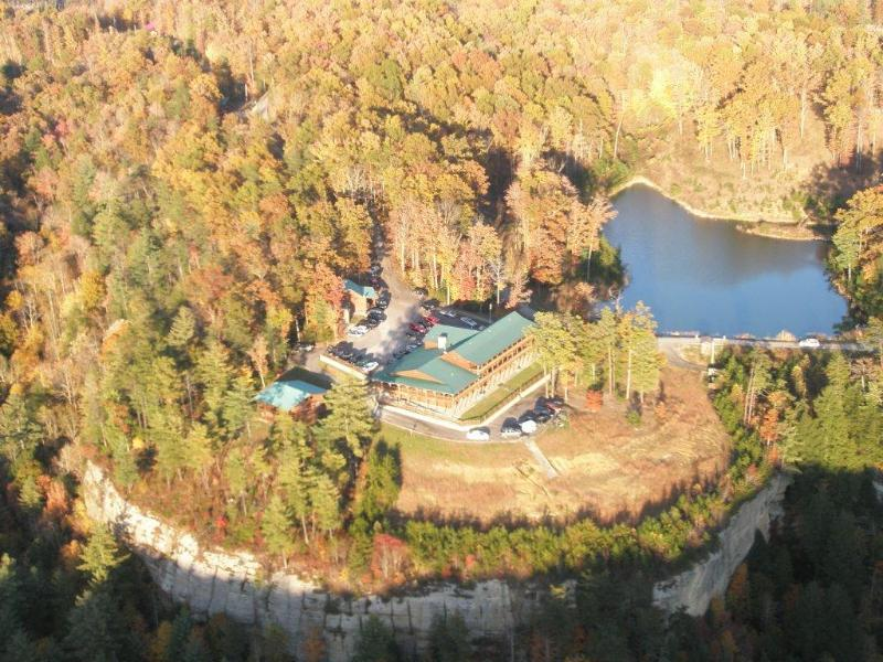Aeriel View of Lodge - Cliffview Lodge Red River Gorge - Slade - rentals