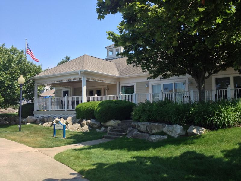 Luxury Home on the Marina - 66 ft Deck & Boat Slip - Image 1 - Manistee - rentals