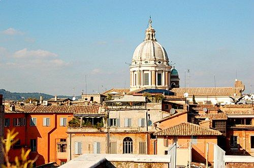 Lucina Wonderful Terrace Apartment - Image 1 - Rome - rentals