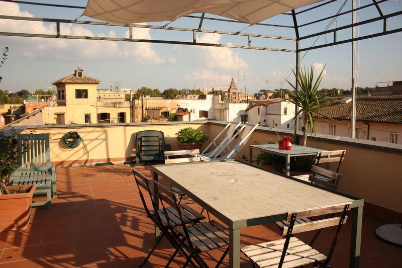 Trastevere Panoramic Luxury Terrace - Image 1 - Rome - rentals