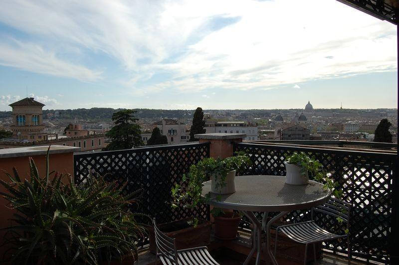 Porta Pinciana Panoramic Terrace - Image 1 - Rome - rentals