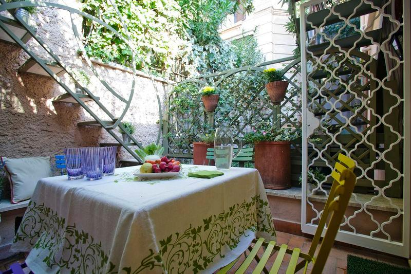 Luxury Terrace Apartment  on the Spanish Steps - Image 1 - Rome - rentals
