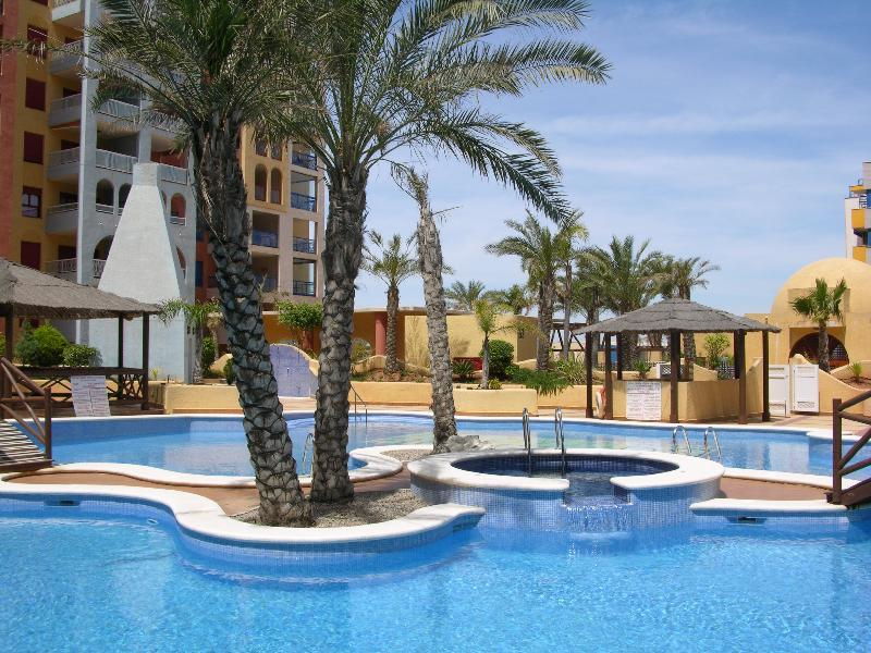 Apartment with Fantastic Sea View - Indoor and Outdoor Pool - Roof Terrace - Image 1 - Playa Honda - rentals