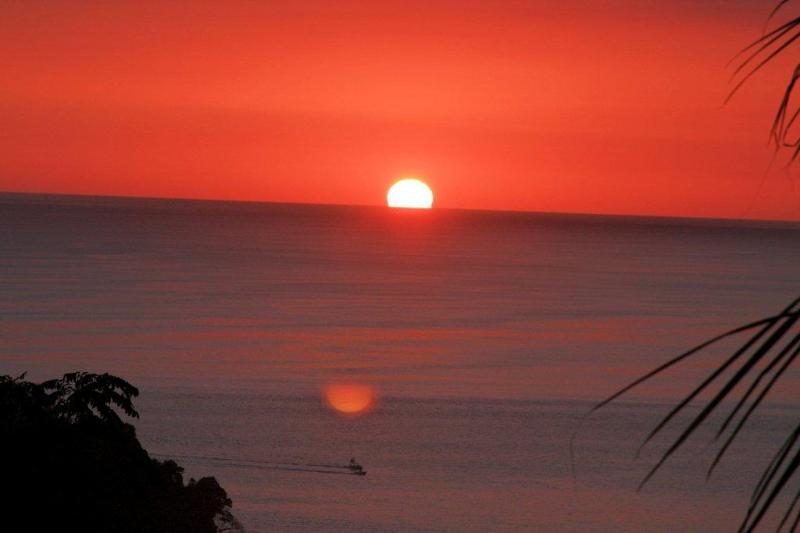 Sunset at Damas Island - TRANQUILITY in the TROPICS at PUEBLO REAL - Quepos - rentals