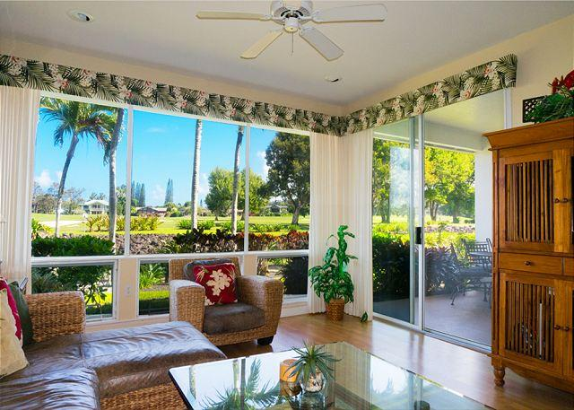Emmalani Court 312: Air-conditioned in small, tranquil complex close to beach - Image 1 - Princeville - rentals