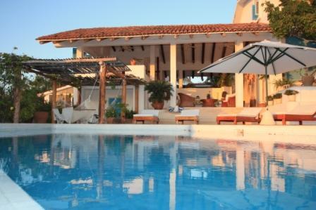 Luxury 5 Bedroom Oceanfront Villa Huatulco Bahias - Image 1 - Huatulco - rentals