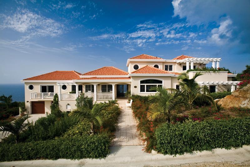 Villa Jamie at Magens Bay, St. Thomas - Cliffside, Oceanfront, Pool - Image 1 - Magens Bay - rentals