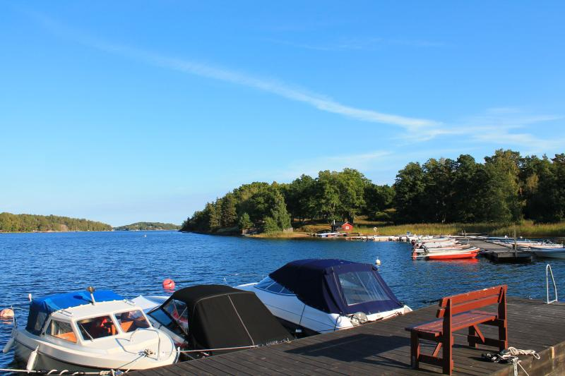 The peer 3 minutes from the house just a bit down the hill. - Dream House in the Stockholm Archipelago - Stockholm - rentals