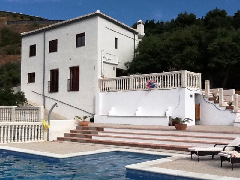 for front of this spectaculair house - CASA FARAQUIT with stunning mountain views - Guajar Faraguit - rentals