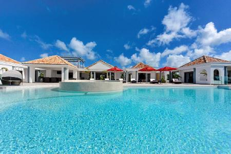 Just in Paradise - Villa offers pool, rooftop bar & sweeping views - Image 1 - Terres Basses - rentals