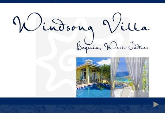 website www.bequiawindsongvilla.com - Windsong Villa, Bequia - Bequia - rentals