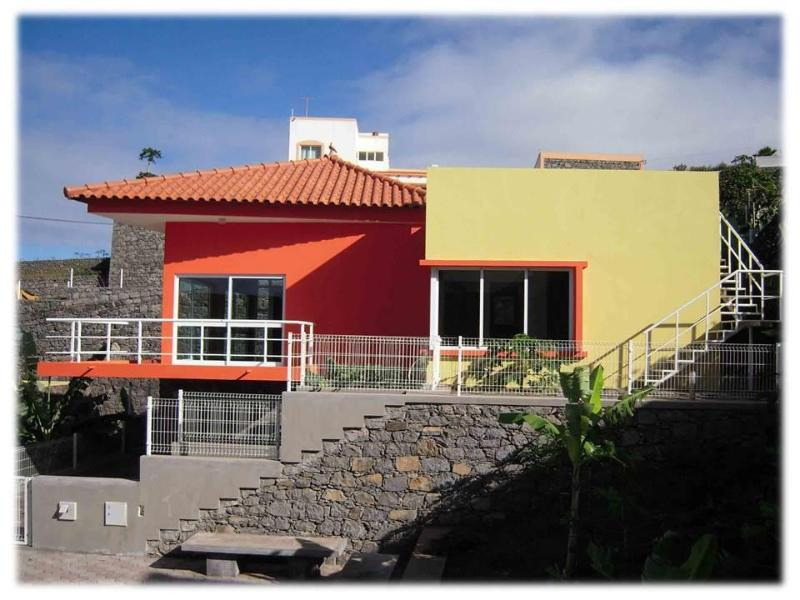 Villa Soleil with private grounds - Modern detached Villa Soleil - panoramic sea views - Santo Antao - rentals