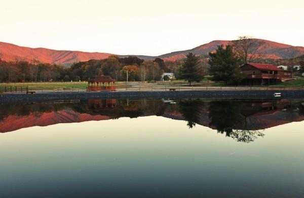 Beautiful Views of the Blue Ridge Mountains - Hawksbill Retreat 1 Bedroom Cabin - Luray - rentals