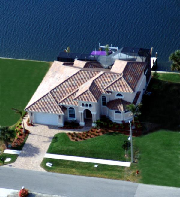 Aerial View - Marco Memories - Waterfront Luxury 4br 4bth - Marco Island - rentals