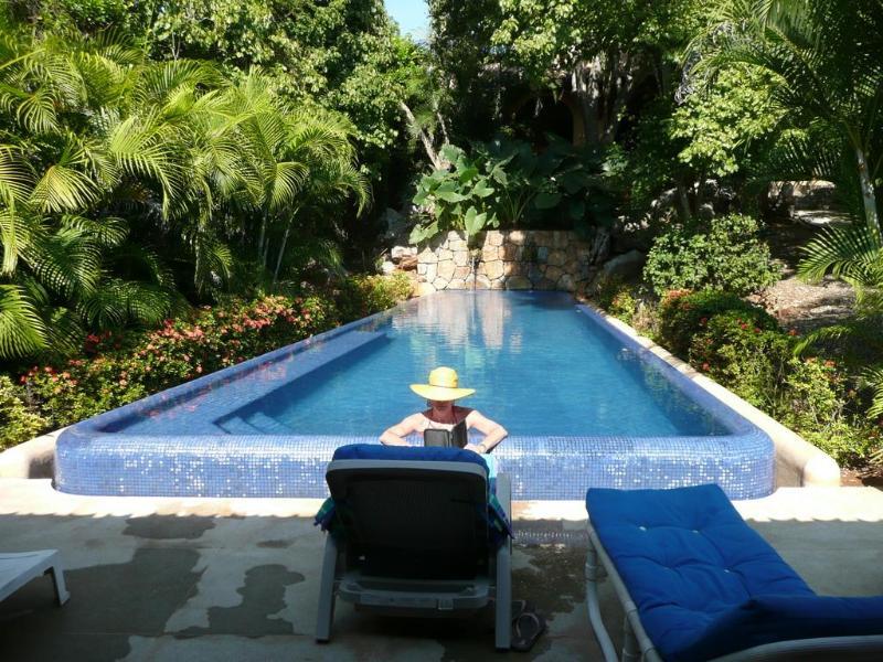 Outdoor pool - Las Mara Villas - Troncones - rentals