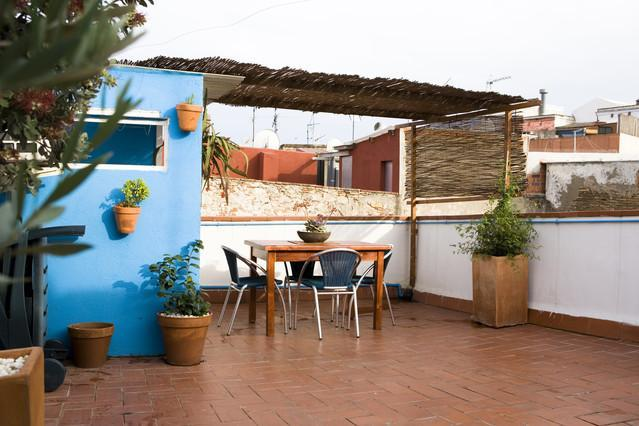 Very nice apartment with private terrace - Image 1 - Barcelona - rentals