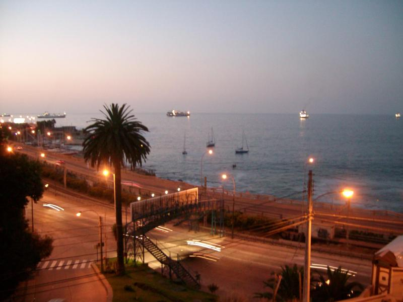 view from the balcony - apt with a great view in Vina del Mar - Vina del Mar - rentals