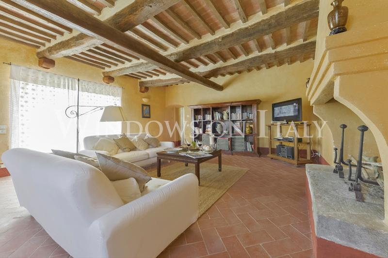 White Retreat Tuscan Vacation Rental from Windows on Italy - Image 1 - Magliano in Toscana - rentals