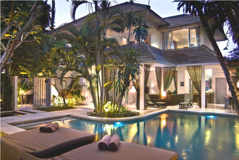 View of villa - Bali villas R us - Very popular, 5 large bedrooms and pool - Seminyak - rentals
