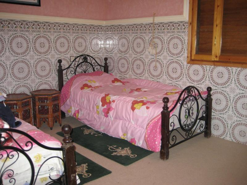 "Bedroom one - For only ""90""euros/Night-rent whole villa w/pool - Marrakech - rentals"