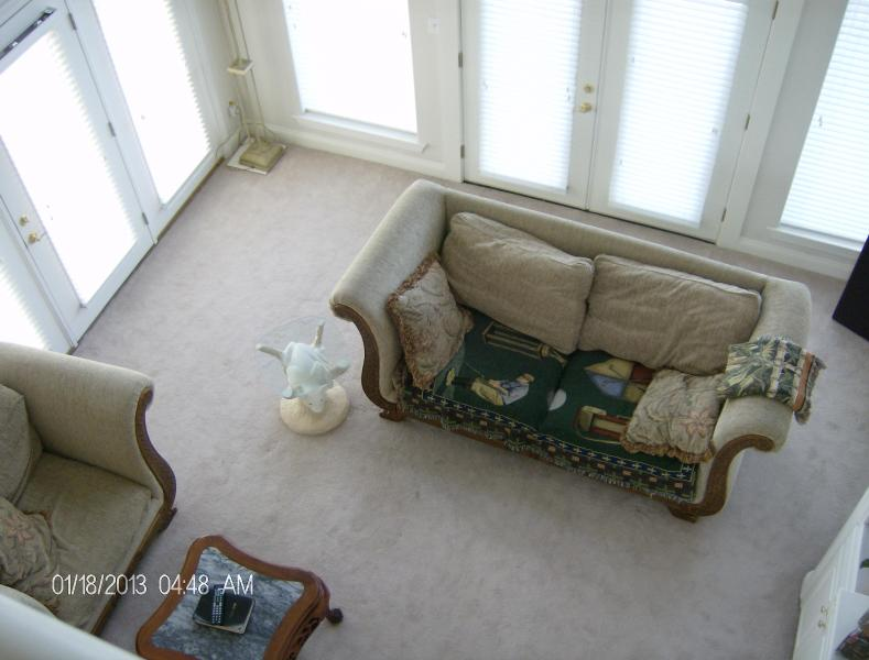 Over looking family room - Old River Chateau crystal white beach Perdido Key - Perdido Key - rentals