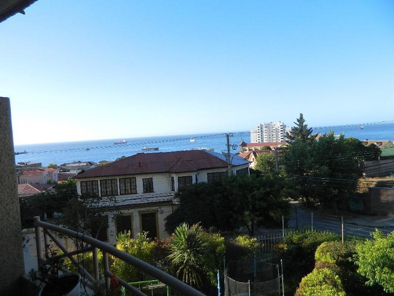 balcony view - Departamento vista al mar  en  Viña del Mar - Vina del Mar - rentals