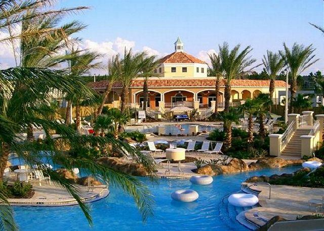 Regal Palms Resort & Spa - Davenport Florida Near Disney Orlando - 4 Bed 3 Bath  Townome Villa At Regal Palms Resort Orlando Florida (AV119CM) - Davenport - rentals