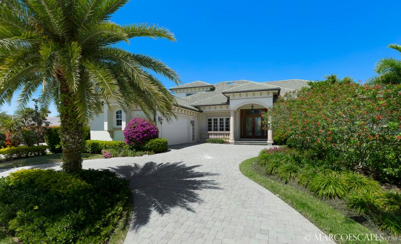 JAMAICA COURT - Rare 6 Bedroom Island Villa on the 14th Fairway of the Island Country Club! - Image 1 - Marco Island - rentals