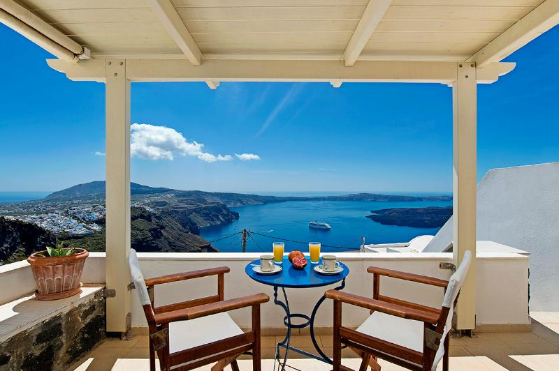 Veranda View - Heaven – Junior Suite with amazing view - Imerovigli - rentals