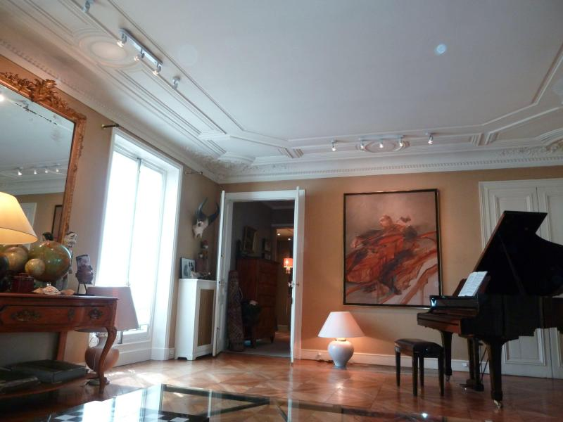 salon - Exceptional Apartment with 2 Bedrooms in Paris - Paris - rentals
